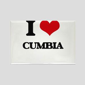 I Love CUMBIA Magnets