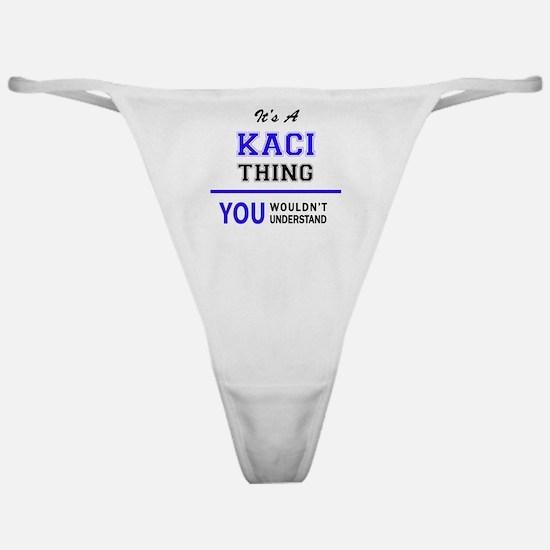 Unique Kaci Classic Thong