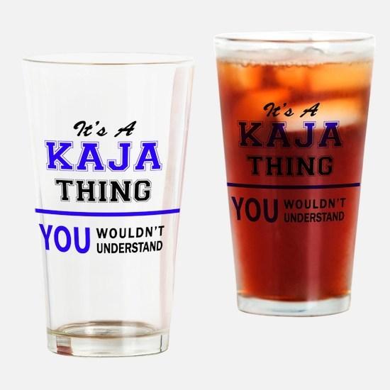 Unique Kaja Drinking Glass