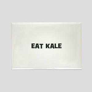 eat kale Rectangle Magnet