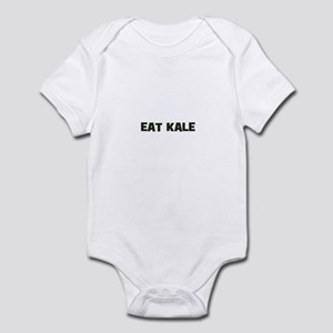 eat kale Infant Bodysuit