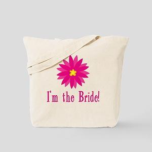 Fun Flower Bride Tote Bag