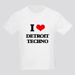 I Love DETROIT TECHNO T-Shirt