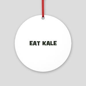 eat kale Ornament (Round)