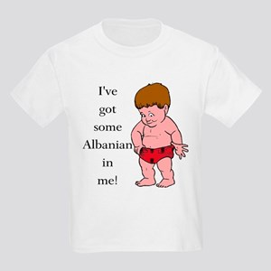 """Albanian In Me"" Kids Light T-Shirt"