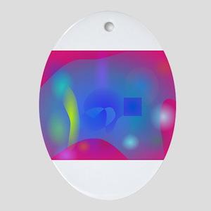 Slime Joy Ornament (Oval)