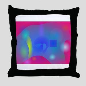 Slime Joy Throw Pillow