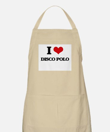 I Love DISCO POLO Apron