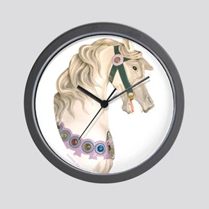Carousel #1 Wall Clock