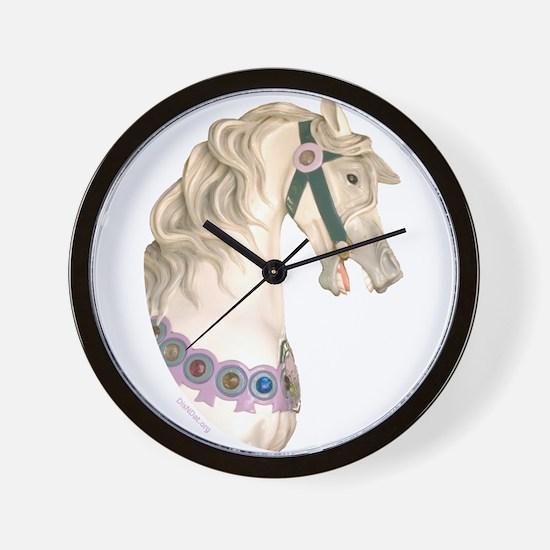 Carousel #1 Wall Clock