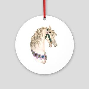 Carousel #1 Ornament (Round)
