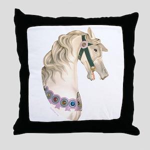 Carousel #1 Throw Pillow