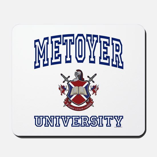METOYER University Mousepad