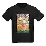 Spring / Corgi Kids Dark T-Shirt