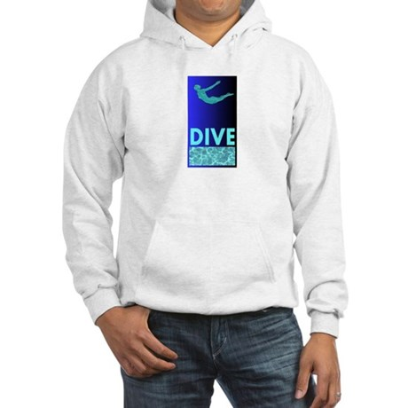 Diver's Hooded Sweatshirt