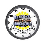 Believe and Include Wall Clock