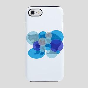 BEAR BUBBLED iPhone 7 Tough Case
