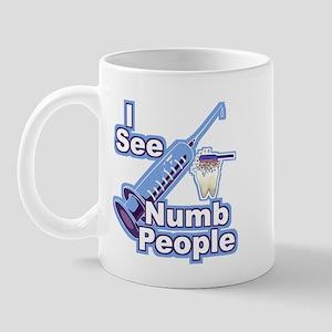 I See NUMB People! Novocaine Mug