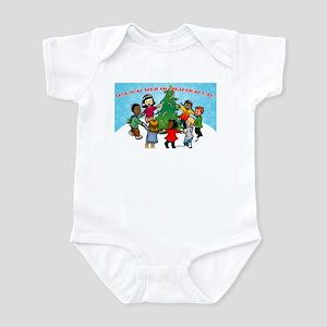 Candy Cane Dance Infant Bodysuit
