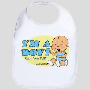 I'm a Boy! Bib