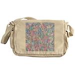 Crazy Quilt (Lt.) Messenger Bag