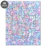 Crazy Quilt (lt.) Puzzle