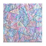 Crazy Quilt (Lt.) Tile Coaster