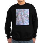 Crazy Quilt (Lt.) Sweatshirt (dark)