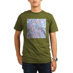 Crazy Quilt (Lt.) Organic Men's T-Shirt (dark)