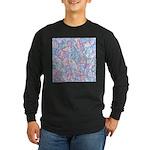Crazy Quilt (Lt.) Long Sleeve Dark T-Shirt