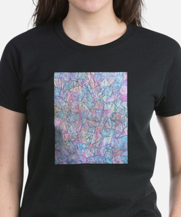 Crazy Quilt (Lt.) Women's Dark T-Shirt