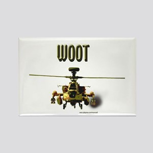 Woot Attack Rectangle Magnet