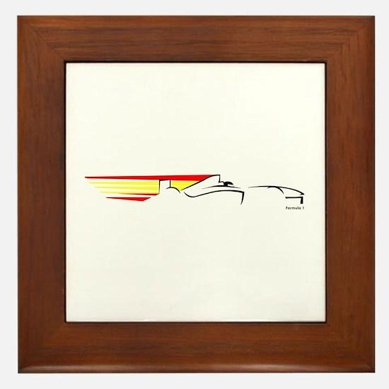 Formula 1 Spain Framed Tile
