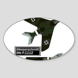 Me P.1112_messerschmitt Sticker