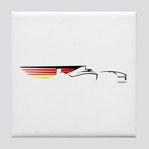 Formula 1 Germany Tile Coaster