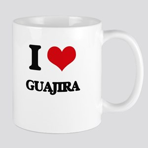 I Love GUAJIRA Mugs