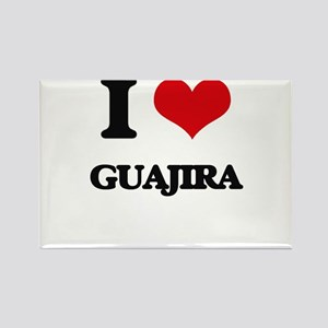 I Love GUAJIRA Magnets