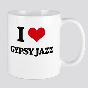 I Love GYPSY JAZZ Mugs