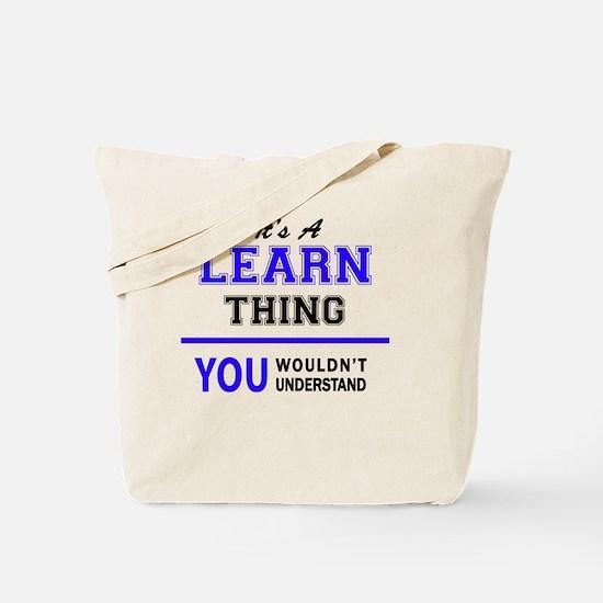 Unique Learn Tote Bag