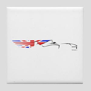 Formula 1 UK Tile Coaster