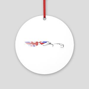 Formula 1 UK Ornament (Round)