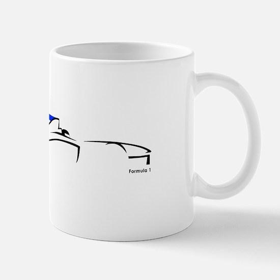 Formula 1 UK Mug