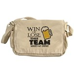 This Team Makes Me Drink Messenger Bag