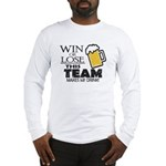 This Team Makes Me Drink Long Sleeve T-Shirt
