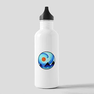 MOUNTAIN SCENE Water Bottle