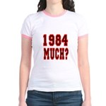 1984 Much? Jr. Ringer T-Shirt