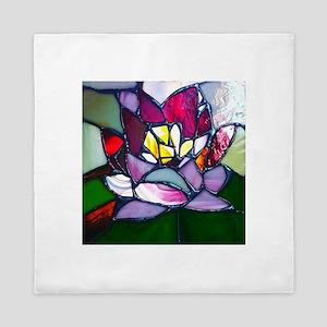 Lotus Flower Queen Duvet