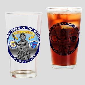 CV-41 Shellback Drinking Glass