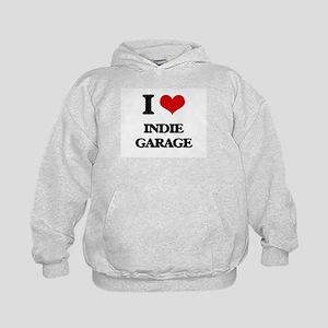 I Love INDIE GARAGE Kids Hoodie