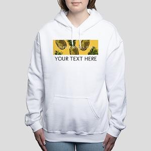Alpha Sigma Tau Pineappl Women's Hooded Sweatshirt